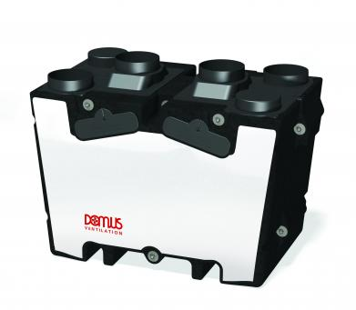 HRX2D, Mechanical Ventilation with Heat Recovery Unit