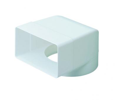 EasiPipe 100 Fixed Socket Plenum 110x54mm to 100mm